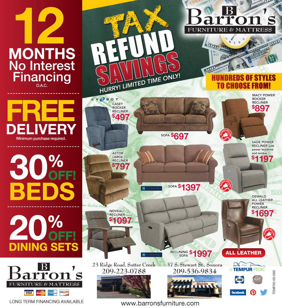 Tax Refund Savings Ad - Page 1